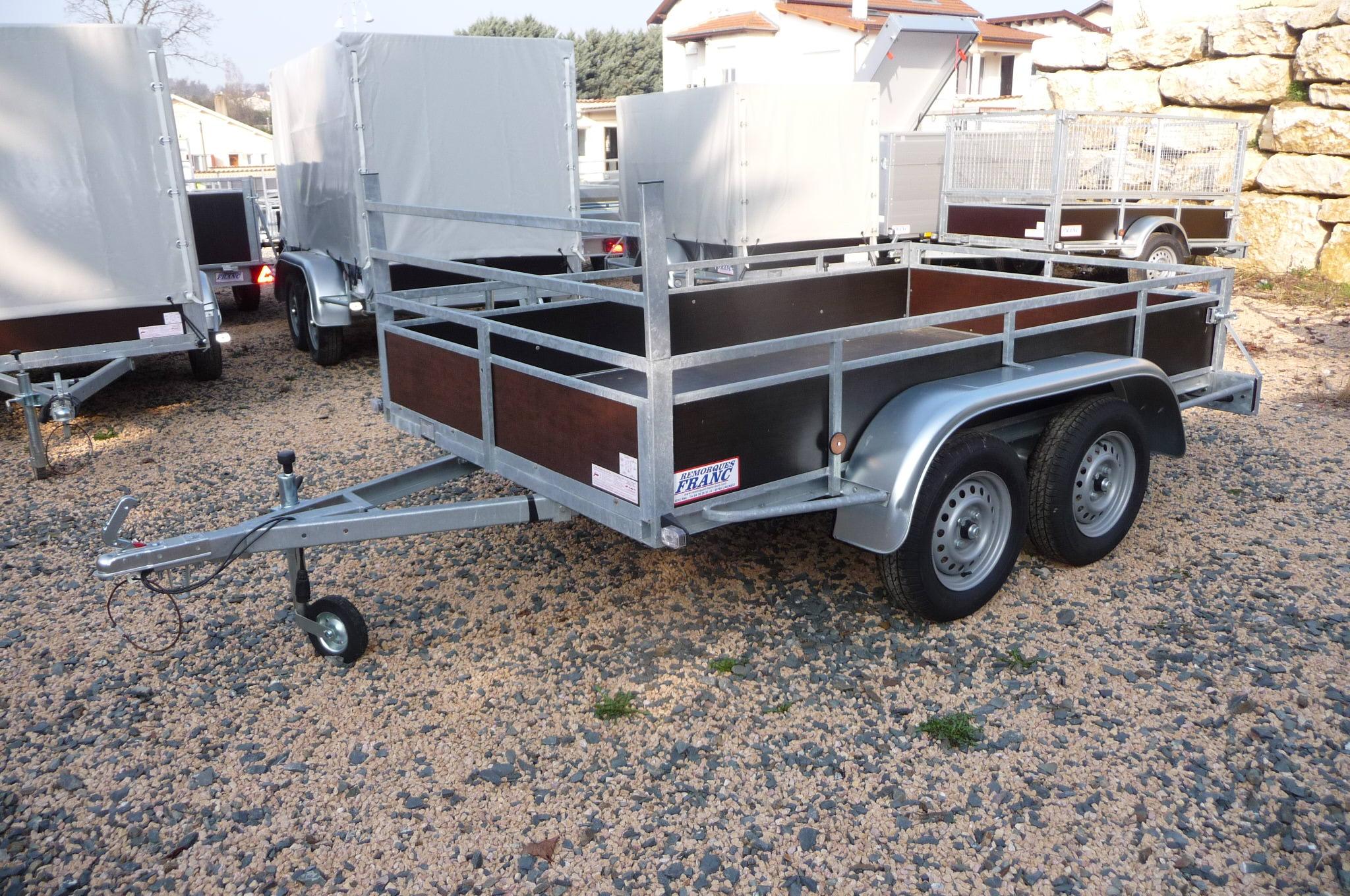 Franc trailers af 275 xl de et af 300 xl de chez - Remorque porte moto occasion pas cher ...