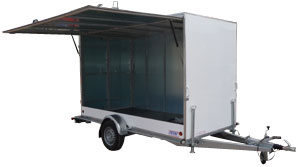 remorque magasin Franc Trailers