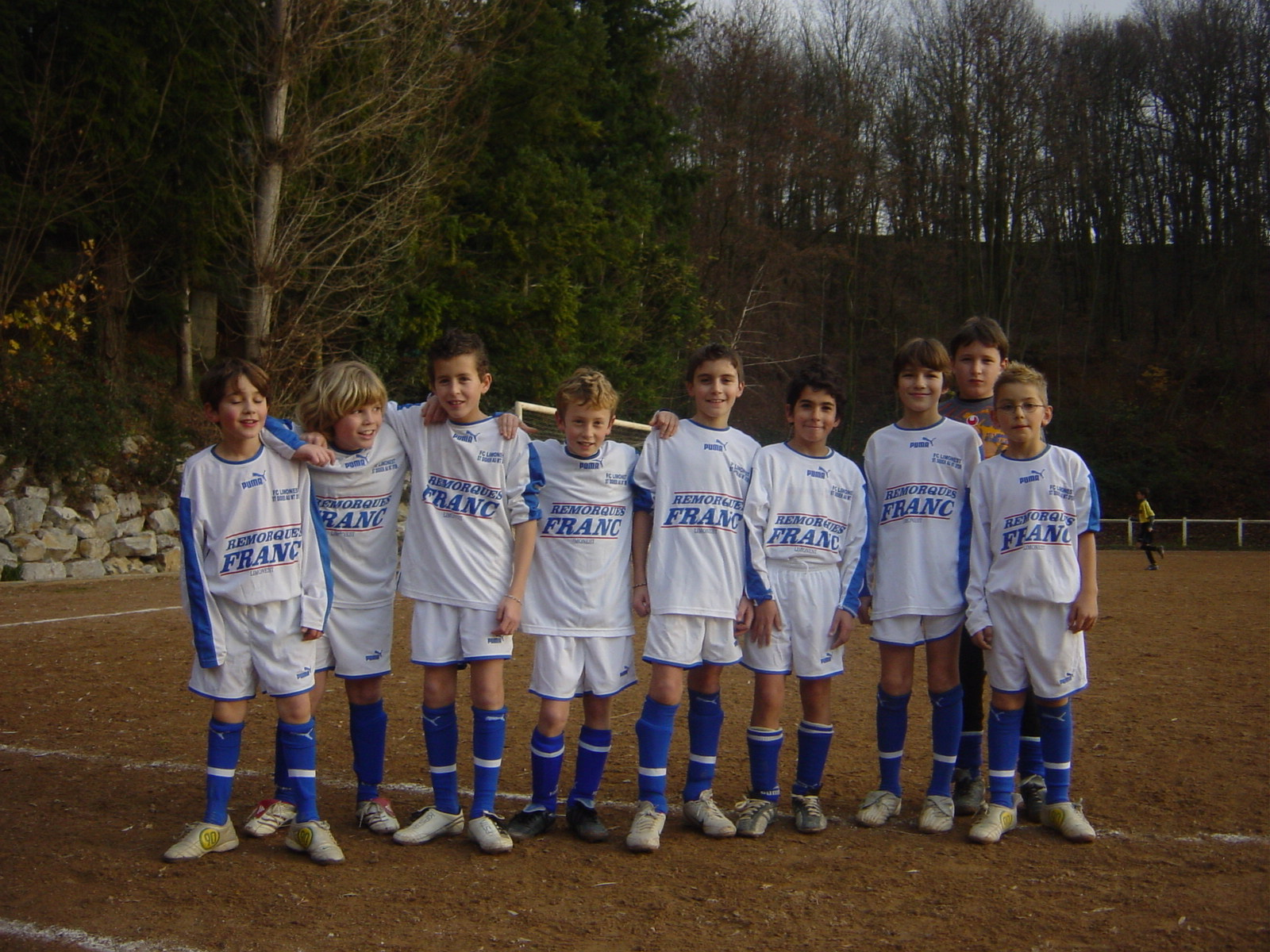 Equipe junior de Limonest